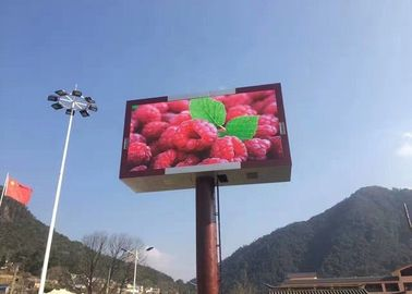 Cina Dynamic LED Outdoor Signs , P10 Outdoor LED Display Signs with 960xh960mm Panel pabrik