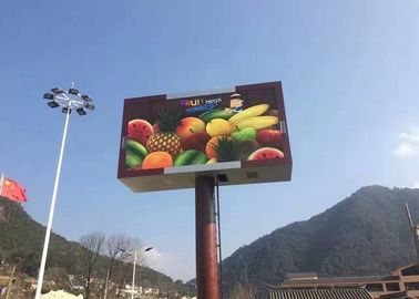 Cina High Definition P10 Outdoor Led Billboard For Dooh Advertising , Energy Saving pabrik
