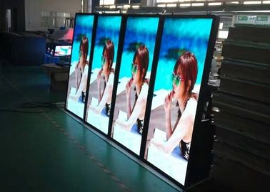 Cina IP65 LED Poster Pixel 6.0mm Exterior / Waterproof LED Sign Display Distributor