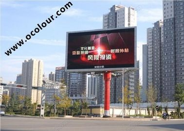 Cina 6800 Nits Brightness Slim Outdoor Led Billboard Screen 10mm Pixel Pitch pabrik