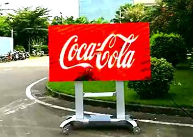 Cina Digital Outdoor Led Billboard Display Signs P4 Untuk Bisnis, 16/9 Gold Ratio Distributor